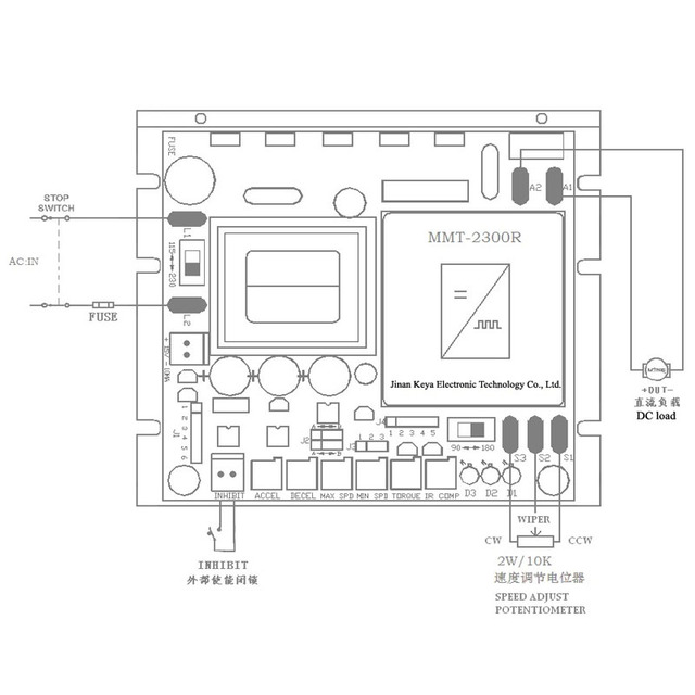Pmdc 모터 컨트롤러 소프트 스타트 소프트 스톱 110v 220v ac 입력 90v 180v dc 용접 포지셔너 용 브러시 모터 속도 제어