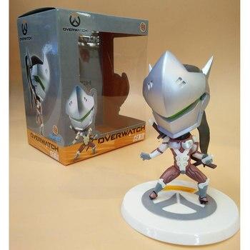 Версии Гэндзи для игры OW фигурка героя персонажа 10 см Кукла, модель из ПВХ со часы игра Коллекция игрушек на подарок 2 Цвет