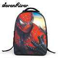 Baby Boy Primary Cartoon Backpack Double Shoulder School Bag Fashion Spiderman Bag Kid Printing Backpack