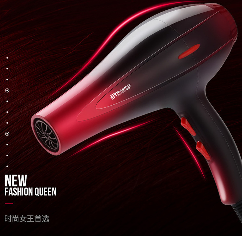 High Power Hair Dryer Machine Strong Wind Quick Drying Electric Hair Blower Negative Ion Hot And Cold Wind X 7704A in Hair Dryers from Home Appliances