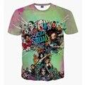 Camiseta Deadpool Mulheres Dos Homens 3D camiseta Homem Superhero Esquadrão Suicida Hip Hop Streetwear Ocasional Slim Fit Camisa Filme