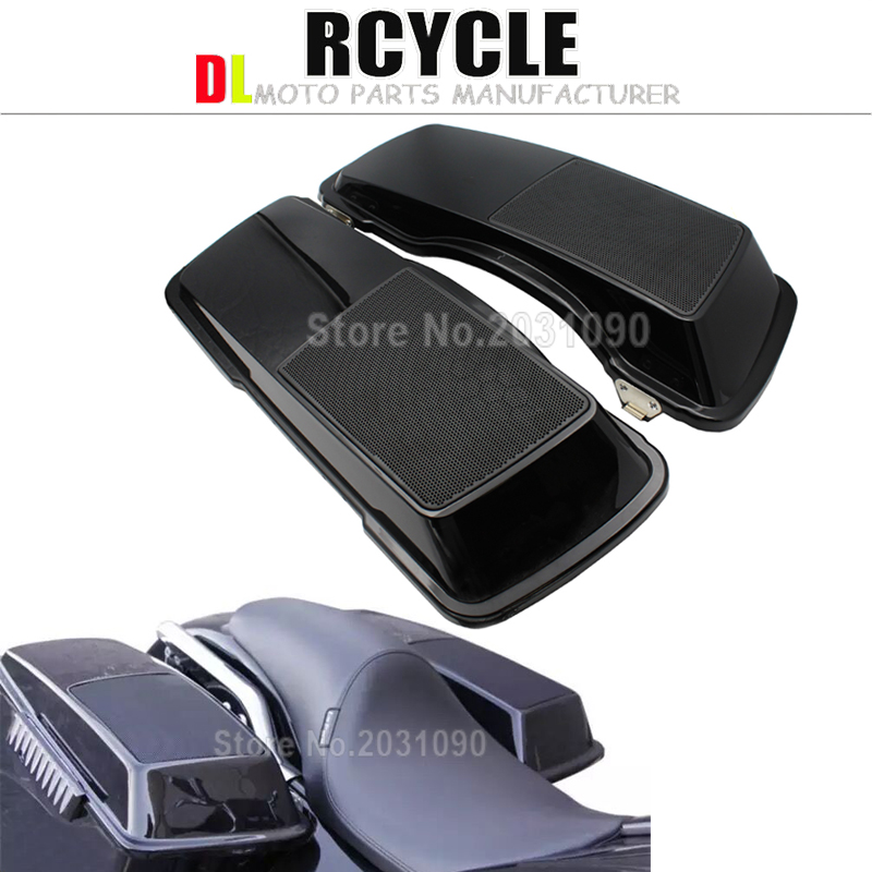 Motorcycle Accessories & Parts Motorcycle Saddlebag Lids With 6x9 Speakers For Harley Touring Road King Street Glide Electra Glide 1994-2013 2012 Traveling Covers & Ornamental Mouldings