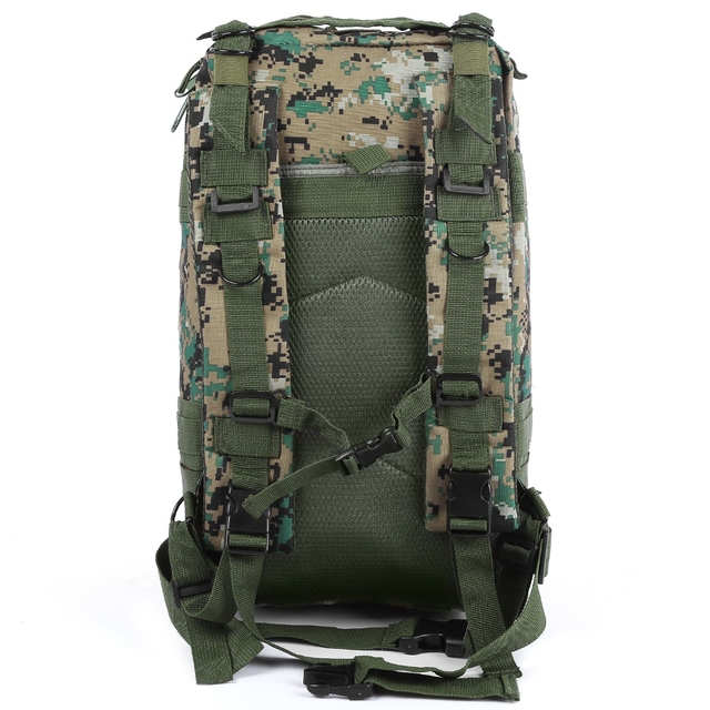 Outlife 30L 3P Tactical Backpack Military Oxford Sport Bag for Camping Traveling Hiking Trekking Bags Outdoor Backpack 9 colors 2