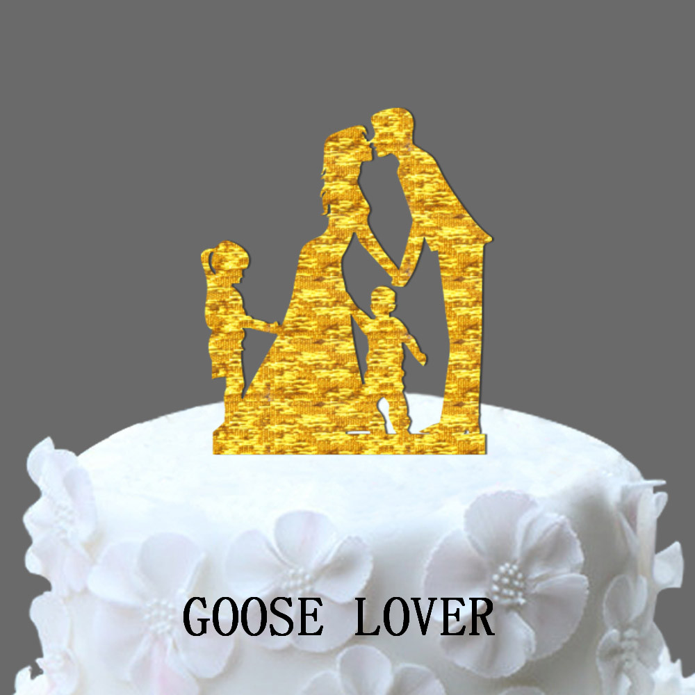 Aliexpress.com : Buy Family Wedding Cake Topper With Brother And ...