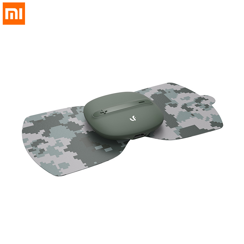 Xiaomi LF Brand Camouflage Color Full Body Massager Magic Massage Sticker Relax Muscle Stimulator TENS Pulse Therapy Massager pop relax electric vibrator jade massager light heating therapy natural jade stone body relax handheld massage device massager