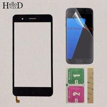 5 Mobile di Tocco TouchScreen Dello Schermo Per ZTE Lama A510 BA510 BA510C Touch Screen Anteriore In Vetro Touch Panel Sensore di Riparazione