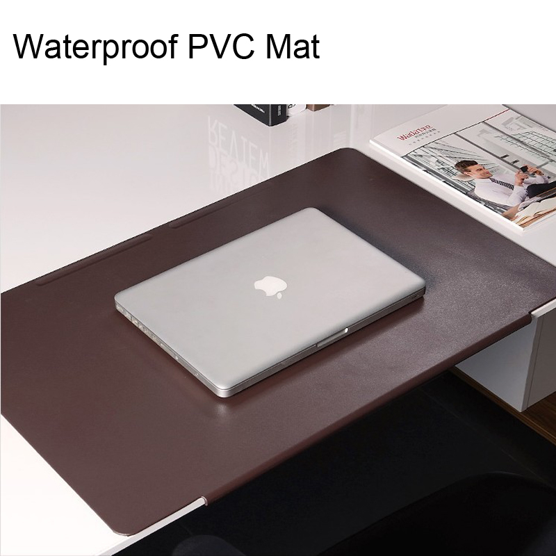 Large Size Gaming Mouse Pad PVC Leather Waterproof Desk Writing Table Mat  700x450mm Non Slip Bottom