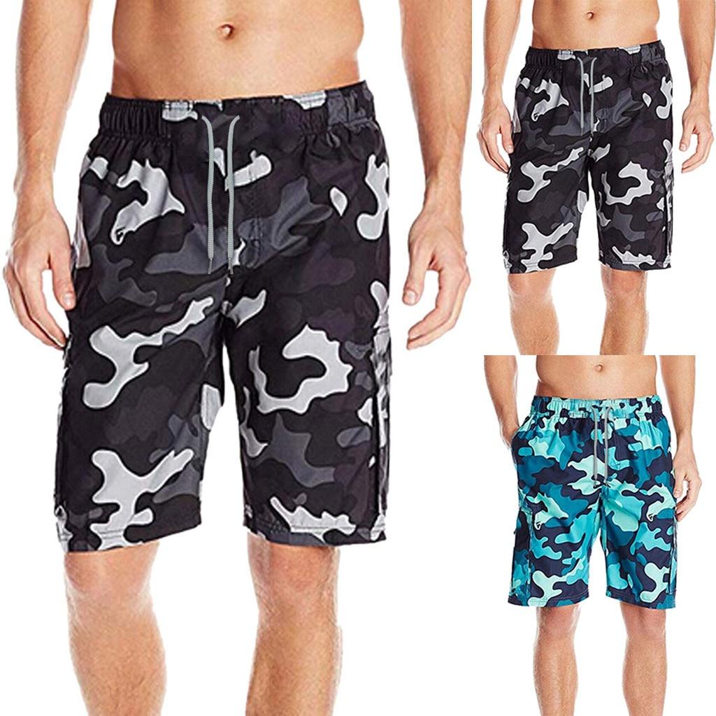 c367fe3dd02b Pantalones cortos para hombre, pantalones cortos, pantalones cortos, ropa  de baño, para nadar, ...