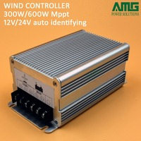 Free Shipping 12v 24v Auto Switch Wind Generator MPPT Charge Controller
