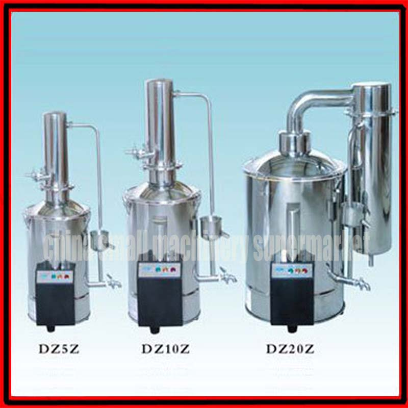 5L/h Stainless Steel Auto Control Electric Water Distiller, Water  Distilling Machine, Distilled Water-in Food Processors from Home Appliances  on