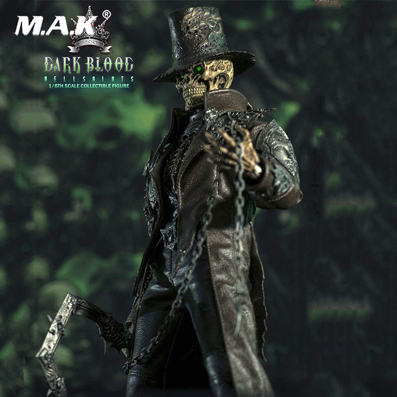 For Collection 1/6 Scale Dark Blood Series Underworld Saints Figure Doll Full Set Figure Gift For Collector
