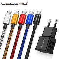Cable de carga Micro USB de 1/2/3 metros, Cable de cargador para Android, Cable de teléfono móvil para Samsung Galaxy J3 J5 J7 2017 Realme 5i