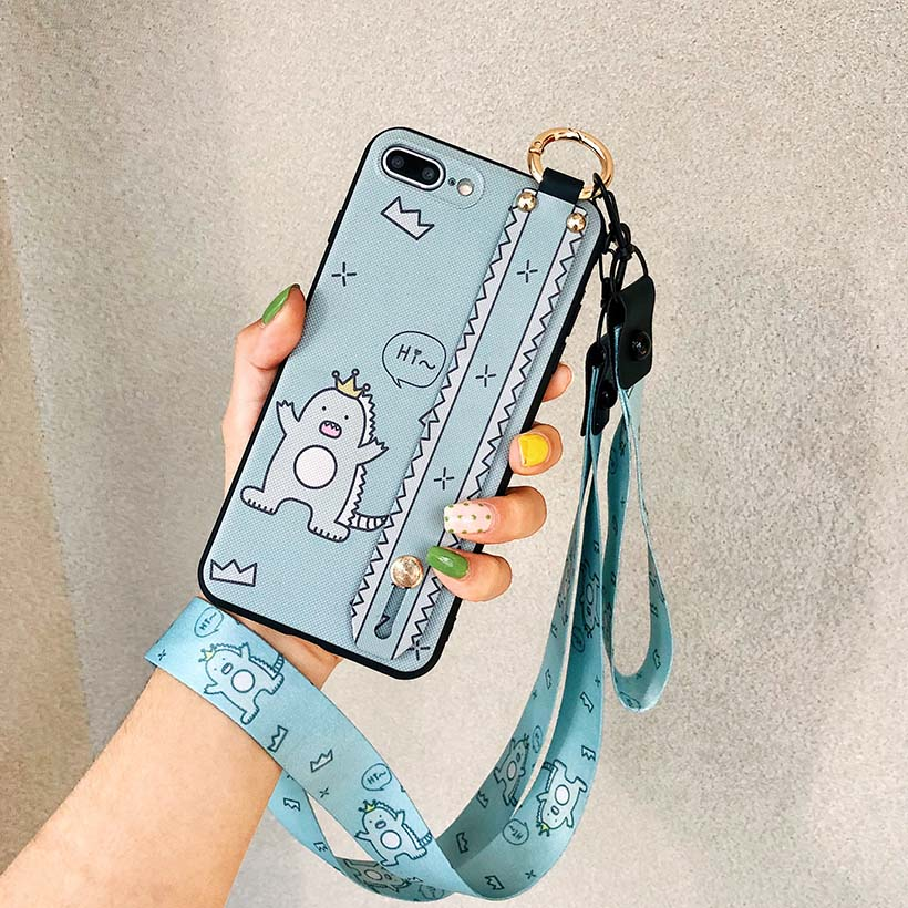 HTB15aarelKw3KVjSZFOq6yrDVXaY Wrist Strap Phone Case for iPhone XS Max X XR Cover iPhone 7 8 Plus 6 6S 11 Pro Max Case Luxury Neck Lanyard iphone 6s case
