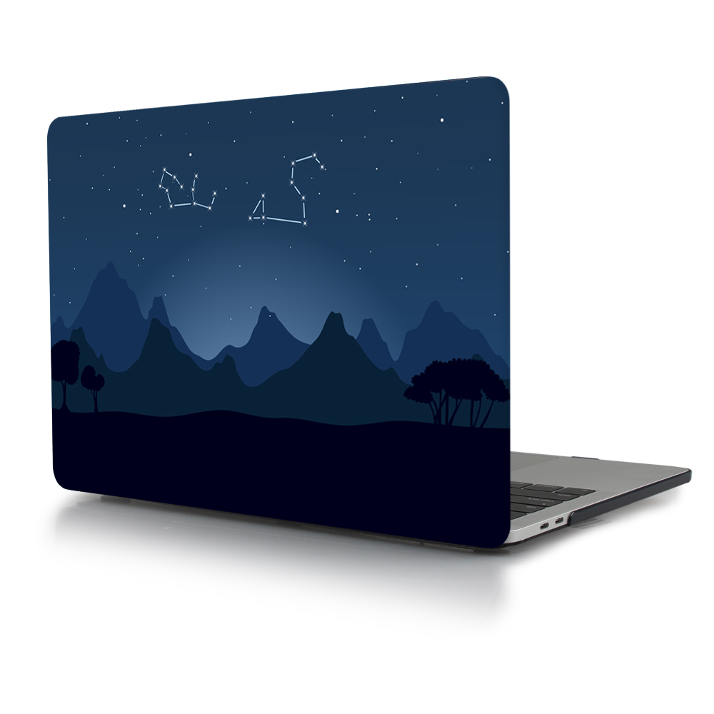 Print Crystal Clear Hard Case for MacBook 83