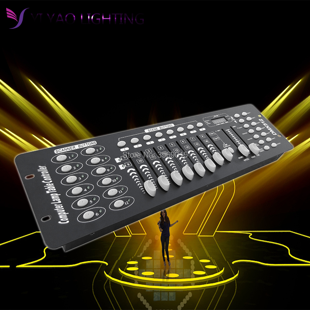 192 DMX Controller DJ Equipment DMX 512 Console Stage Lighting For LED Par dmx 512 controller 192 dmx controller for stage lighting 512 dmx console dj controller equipment