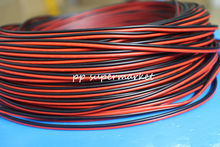 5M 10M 20M 50M Wire Tinned Copper 2 Pin AWG 22 insulated PVC Extension LED Strip Cable Red Black Wire Electric