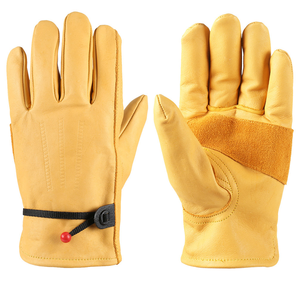 Size Large Premium Driver Work Chore Class A Cowhide Leather Glove 1 Pair