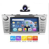 2 DIN Авто Радио GPS Corolla стерео Радио для Camry с DVD плеер Bluetooth FM/AM, wi Fi, рулевое колесо Управление и OBD