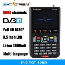 Satxtrem черный V8 Finder Full HD 1080 P цифровой спутниковый сети ТВ приемник DVB-S/S2 MPEG-4 многоязычные СБ метр рецепторов