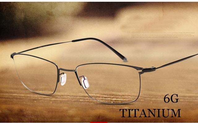 Titanium óculos de armação de metal óculos de prescrição óculos de marca designer de moda online marcos de lentes opticos óptica