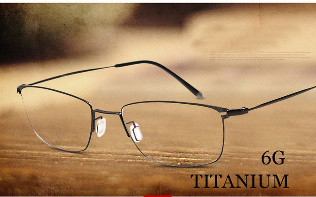 buy designer glasses online 0t4b  Titanium metal frame glasses prescription glasses online fashion brand designer  eyeglasses marcos de lentes opticos OPTICAL