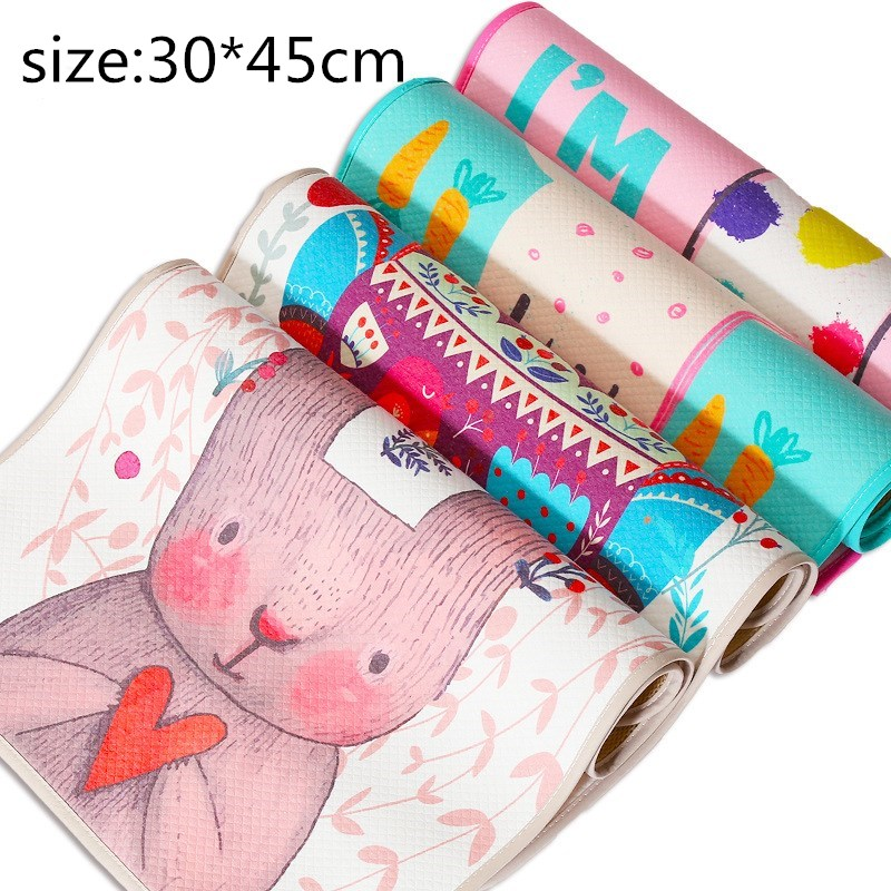 3 Layer Changing Pads Covers Breathable Baby Diapers Mattress Diapers For Newborns Cartoon Pattern Waterproof Changing Mat