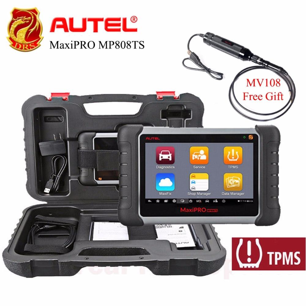 Autel MaxiPRO MP808TS OBDII 2 Diagnostica Scanner Completo TPMS Servizio WiFi Strumento di Scansione Bluetooth Prime Versione di Maxisys MS9O6TS