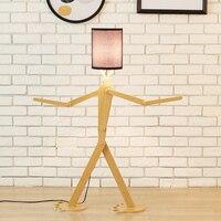 AC110 240V творческий деревянный письменный стол лампы для гостиной кабинет современный светодио дный E27 настольные лампы люстры де Сала plafon