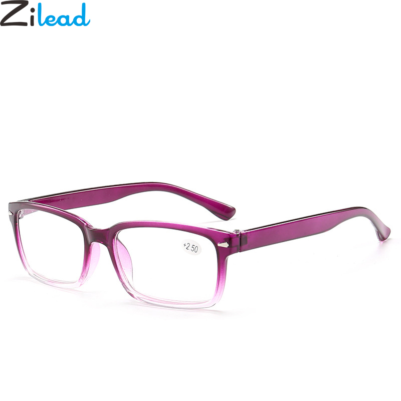 Zilead Comfy Ultralight Reading Glasses Gradient Presbyopia Eyeglasses For Women&Men +1.0 +1.5 +2.0 +2.5 +3.0 +3.5 +4.0