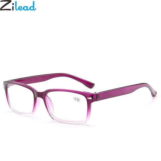 Zilead Comfy Ultralight Reading Glasses Gradient Presbyopia Eyeglasses For Women&Men +1.0 +1.5 +2.0 +2.5 +3.0 +3.5 +4.0