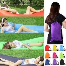 240*70 см/210*70 см Быстрый надувной ленивый мешок воздушный спальный мешок Кемпинг портативный воздушный банан диван пляжная кровать воздушный нейлоновый Диван Laybag