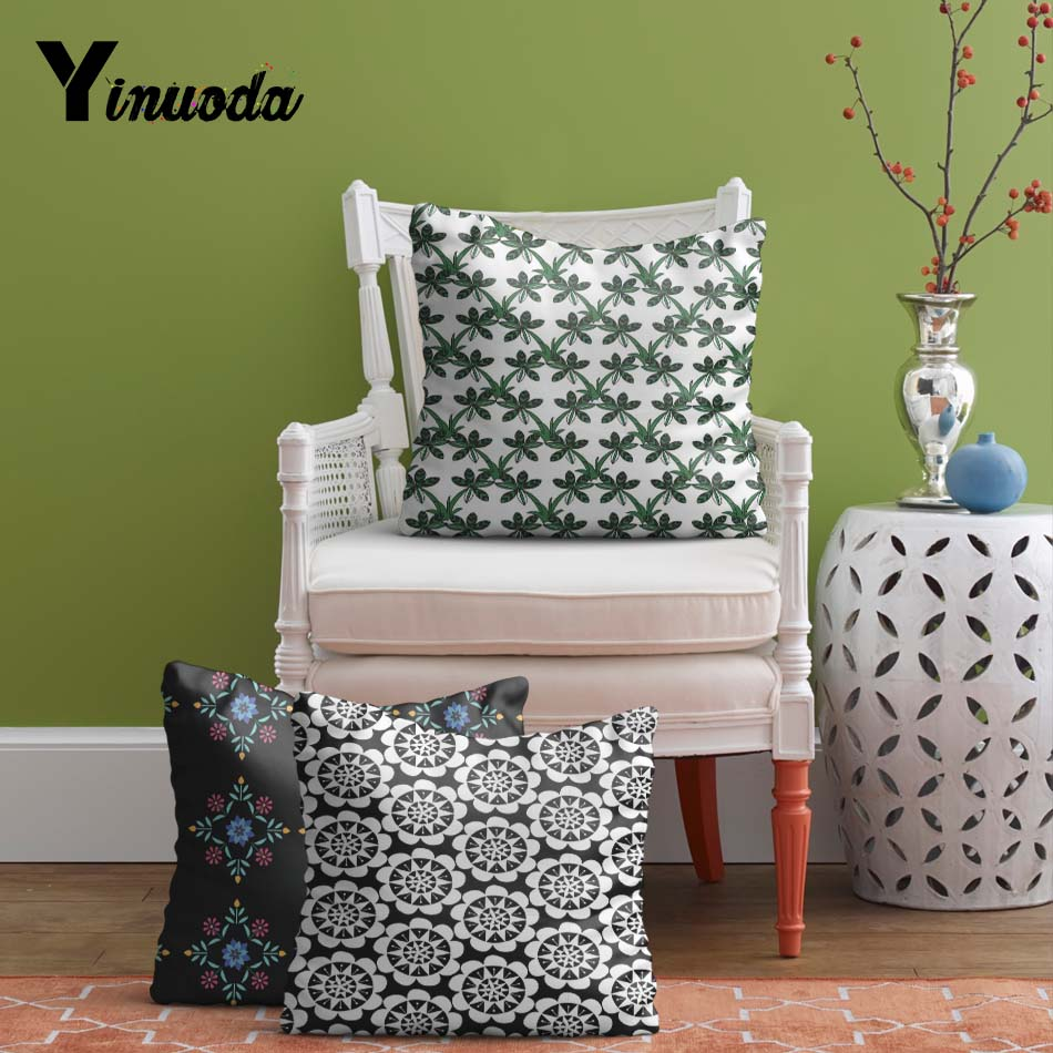 Yinuoda Cushion cover Arrival Popular Floral Pattern Before Christmas Sally  Love Gift Throw Pillowcase Sofa Seat Cushion Cover - Sofa Seat Cushion Covers Promotion-Shop For Promotional Sofa Seat