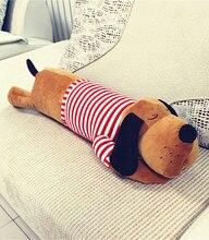 1 piece 70cm And 90 cm Big Head Dog  Sleeping Pillow Plush Toy Large Birthday Gift Dolls Cloth Girls Toys