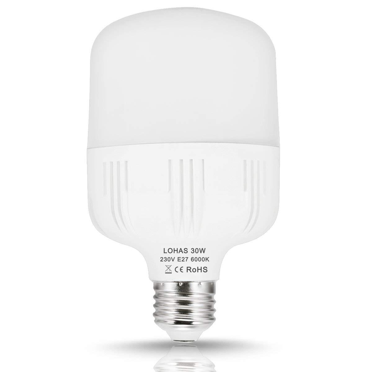 6000K B22 ULTRA BRIGHT WHITE LED ENERGY SAVING BULB LAMP B22 BAYONET NEW