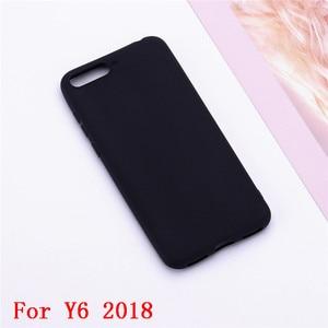 Image 3 - Y6 2018 Siliconen Case op voor Huawei Y6 Prime 2018 case Soft TPU Back Cover Voor Coque Huawei Y6 2018 Y 6 Prime 2018 Telefoon Gevallen