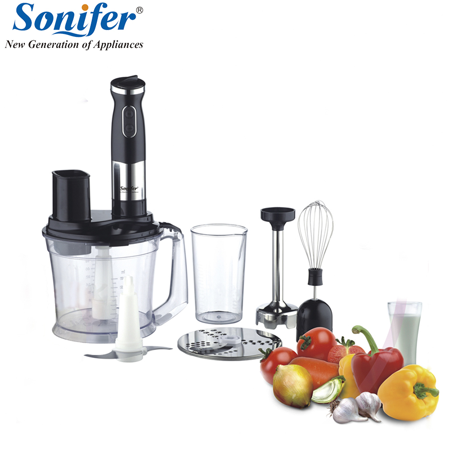 500W Multifunction 5 speed electric food blender mixer kitchen hand blender egg beater vegetable Meat Grinder blend Sonifer hand blender haier hhb 111 electric blender mixer grinder for kitchen handheld stainless steel 12 speed