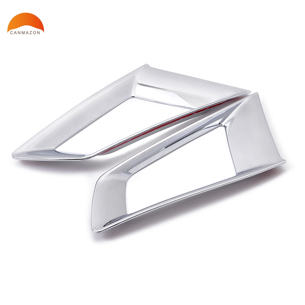 For Renault Koleos 2008 2009 2010 2011 Car Styling ABS Chromed Car Front Grille Around Trim grills Decorative Protection 2pcsFor Renault Koleos 2008 2009 2010 2011 Car Styling ABS Chromed Car Front Grille Around Trim grills Decorative Protection 2pcs