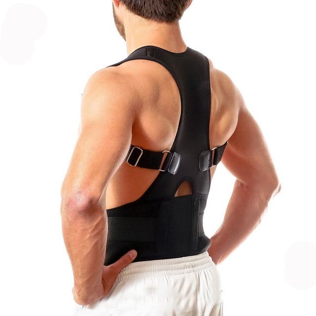 調整可能なコルセット整形外科ブレース姿勢コレクターバックサポート肩ベルト男性/女性コレクター用バック