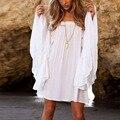 New Sexy Women Dress Summer Boho Short Mini Beach Dress Party Dresses TQ