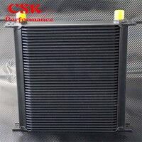 40 РЯД AN10 алюминиевый двигатель и коробка передач масляный радиатор черный