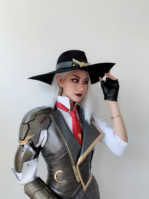 Ashe game cosplay costume ashe Full Set High quality private custom made with armors 1