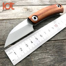 LDT Razor Mini Folding Knife D2 Blade Wood Handle Sharp Camping Knives Survival Tactical Hunting Camping Pocket knife Tools EDC