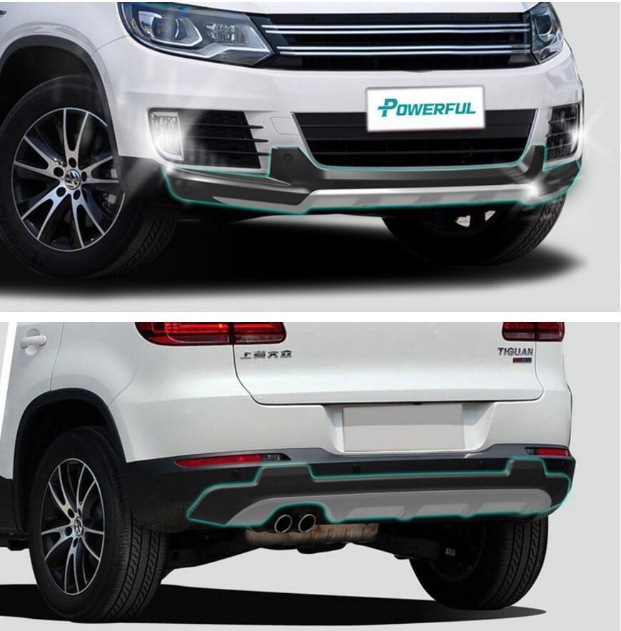 Volkswagen 2015 Tiguan: Fit For Volkswagen VW Tiguan 2013 2015 Front+ Rear Bumper