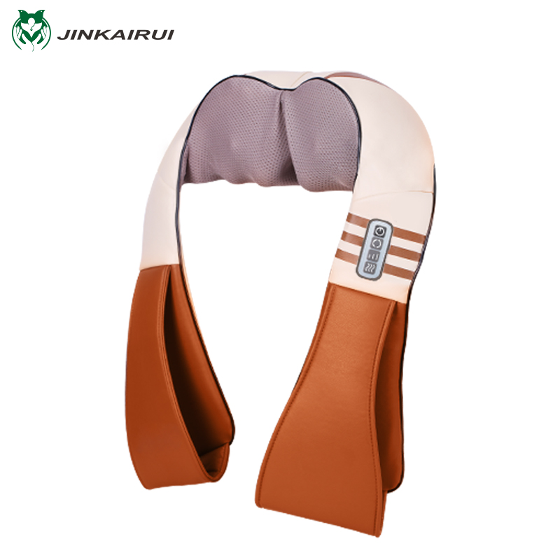 U Shape Electrical Shiatsu Back Neck Shoulder Body Massager Infrared Heated Kneading Car Home Massager