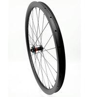 Mtb カーボンチューブレスホイール 29er 36 ミリメートル hookeless 740 グラム AM D791SB100x15mm 自転車ホイール mtb バイクディスクホイール UD 3 k カーボンホイール