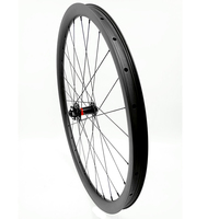 mtb carbon tubeless wheels 29er 36mm hookeless 740g AM D791SB100x15mm bicycle wheel mtb bike disc wheel UD 3k carbon wheels