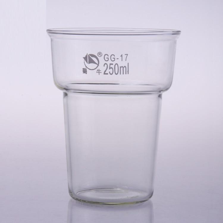 High quality thick glass dyeing beakerHigh quality thick glass dyeing beaker