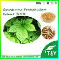 Fonte da fábrica melhor 100% Natural Gynostemma pentaphyllum Extrato 10:1 1000 pcs * 500 mg Cápsula