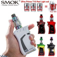 Original SMOK Mag Kit with 225W BOX MOD & 8ml TFV12 Prince Tank Vaporizer Electronic Cigarette Vape Kit VS SMOK X Priv G-PRIV 2 original electronic cigarette innokin proton plex kit 235w proton box mod vape with 4ml plex tank plexus scion coil vaporizer