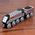 W06 спенсер Томас и Друзья Деревянный Железнодорожный Поезд Аниме Игрушка Томас Поезд Модель Great Kids Toys для Детей Рождественские Подарки
